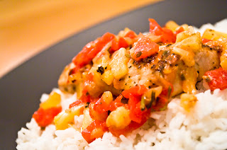 Lemon Mahi Mahi with Pineapple Salsa