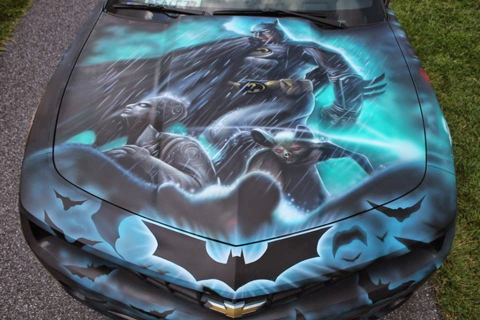 Bat blog batman toys and collectibles check out the for Custom automotive paint
