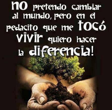 Hagamos la diferencia....