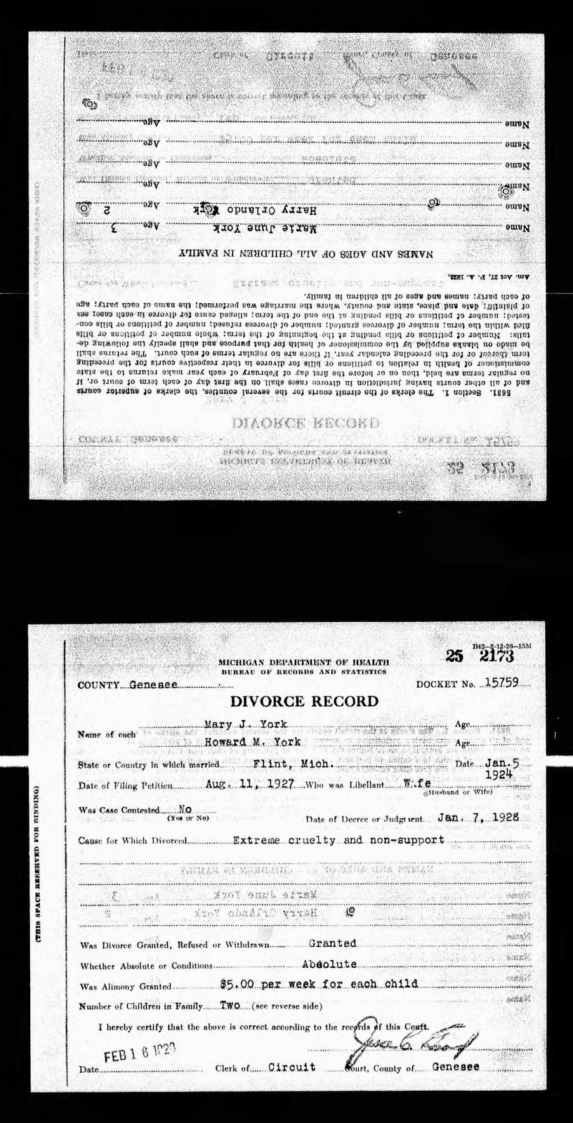 Ancestories the stories of my ancestors tuesdays tip looking michigan divorce records 1897 1952 online database with images for 1897 1938 only ancestry httpancestry accessed 12 june 2014 aiddatafo Image collections
