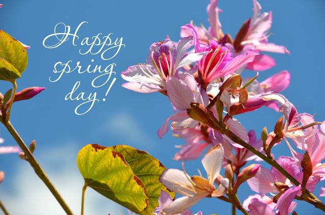 happy spring days