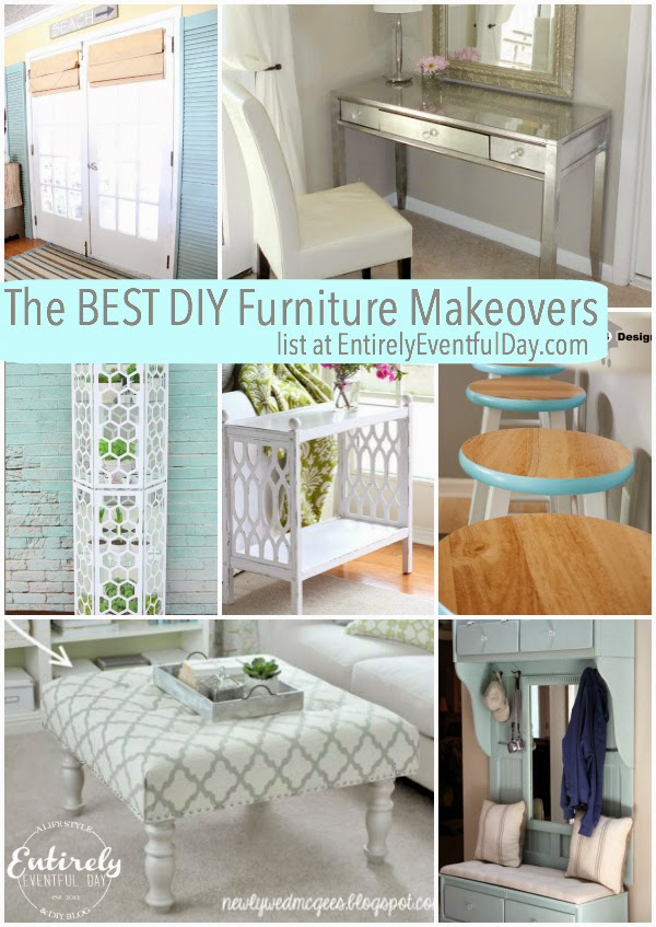 Seriously love these DIY furniture makeovers!