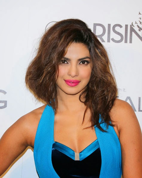 Priyanka Chopra at the Girl Rising Event