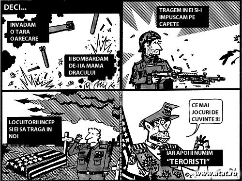 Terorism versus terorism