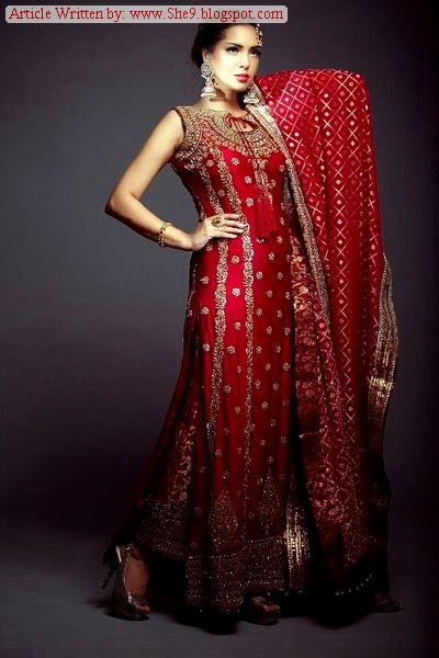 Mahron / Red Bridal Wear Collection