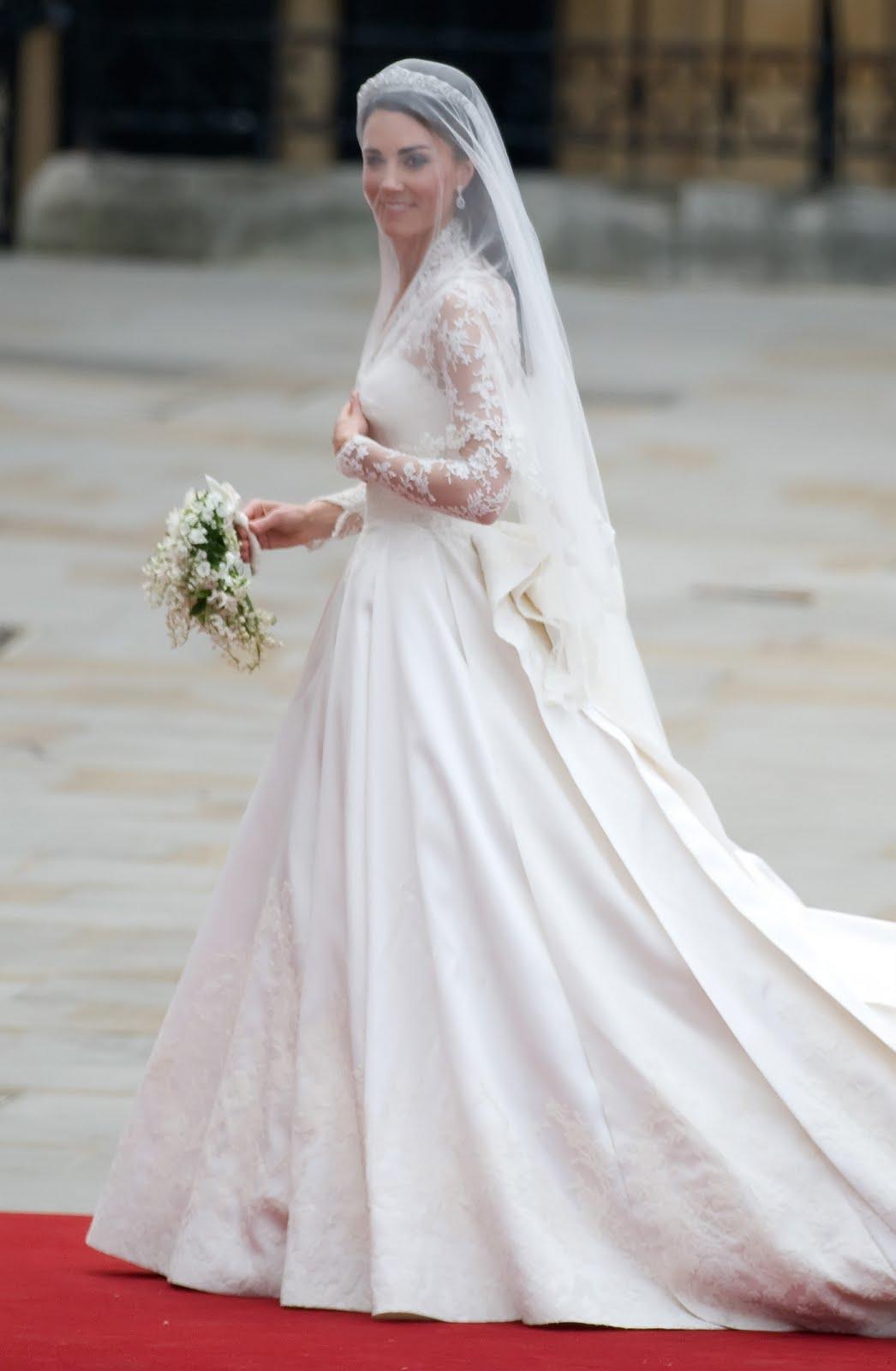 decoracao do casamento de kate middleton:Louise Mattos: Kate Middleton em seu casamento