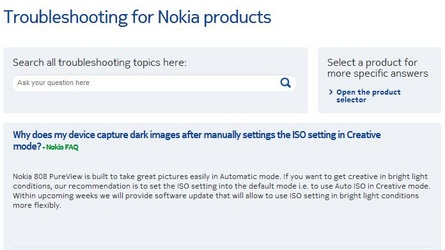 troubleshooting for nokia