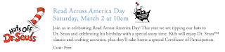 Free Read Across America Day & Dr. Seuss Celebration Event at Pottery Barn Kids on March 2 at 10AM
