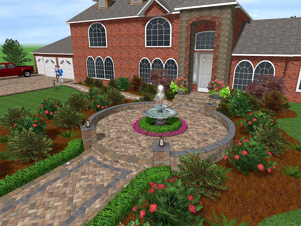 My landscape ideas boost for 3d garden designs