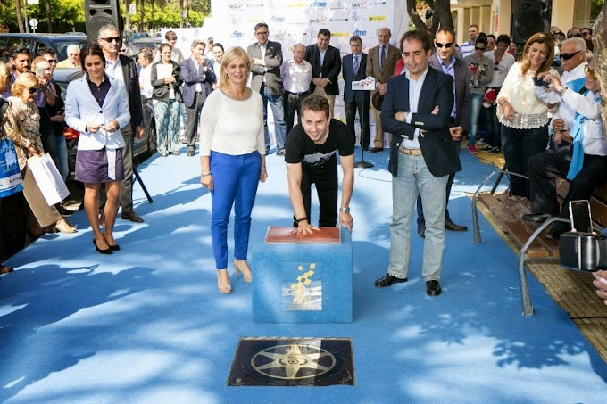Walk of Fame Jerez untuk Jorge Lorenzo