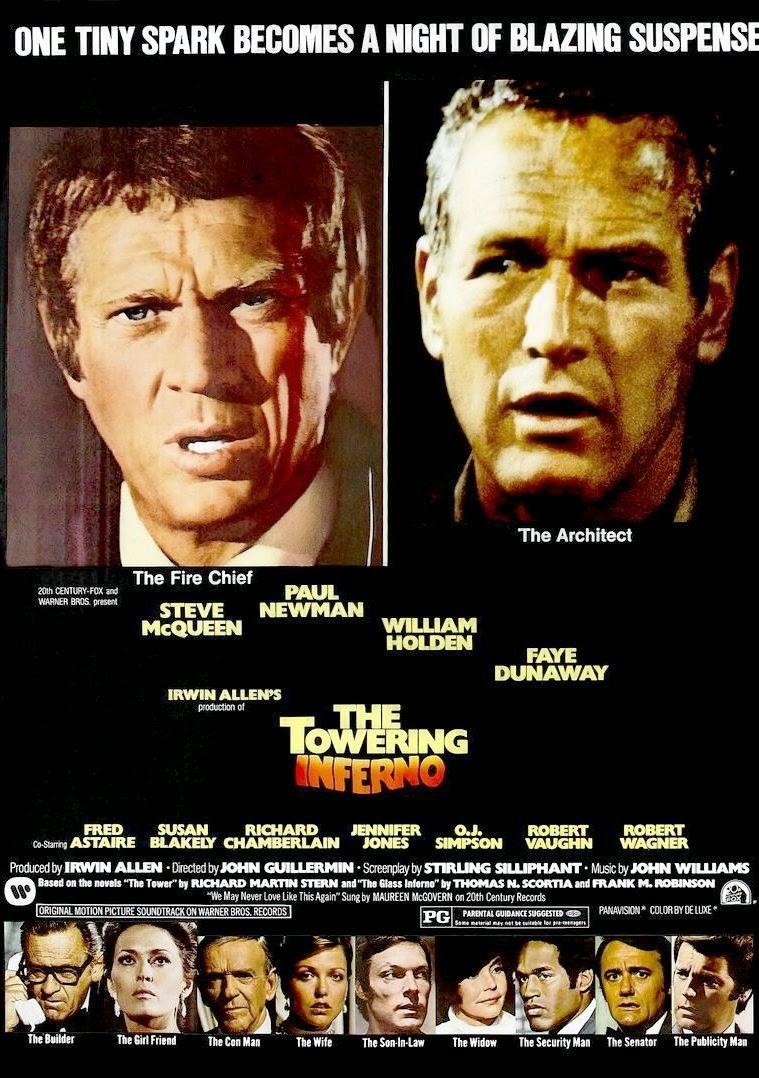 Inferno Em Chamas Ideal filmes antigos club - a nostalgia do cinema: inferno na torre: as