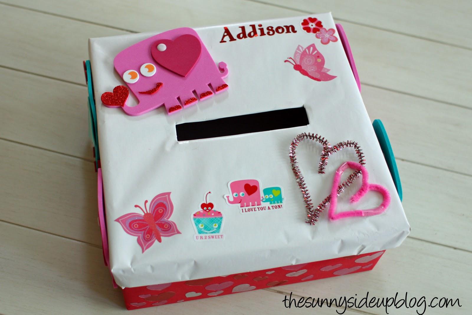a valentines box