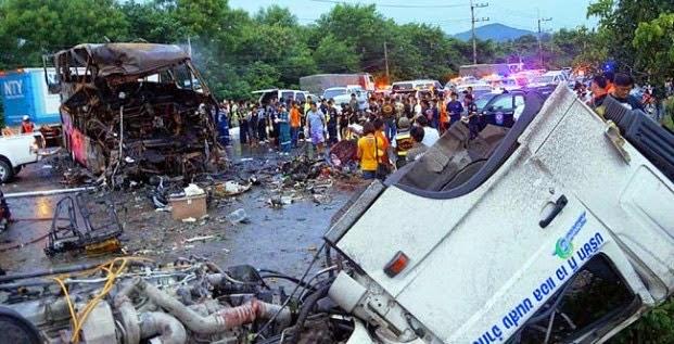 Verkehrsunfall Thailand