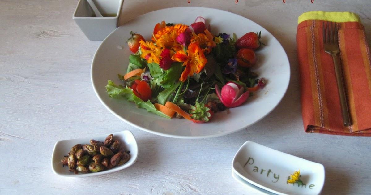 Cocinarte cocinar con flores reto cooking challenge for Cocinar con 5 soles