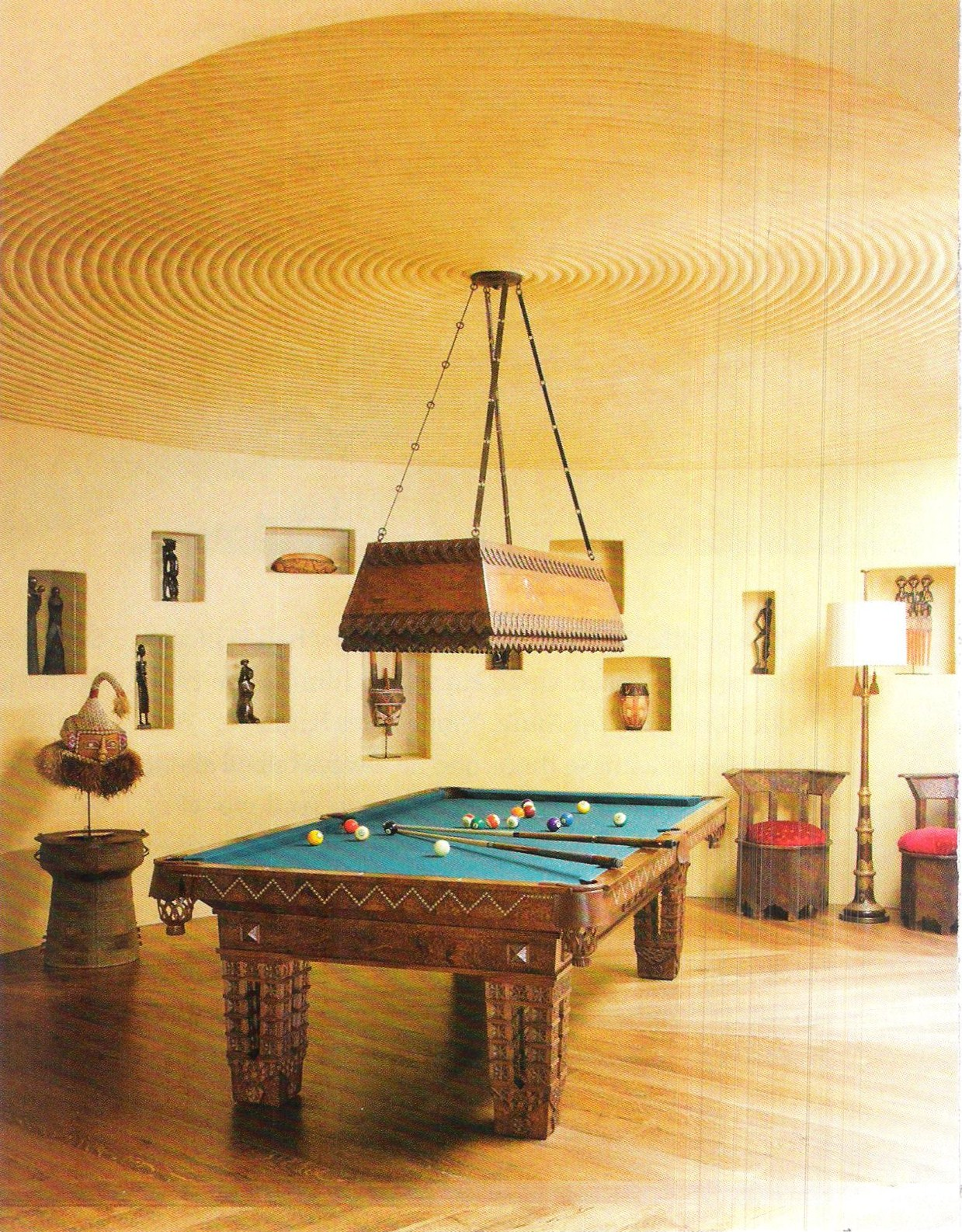 In the Billiard Room | A Flippen Life