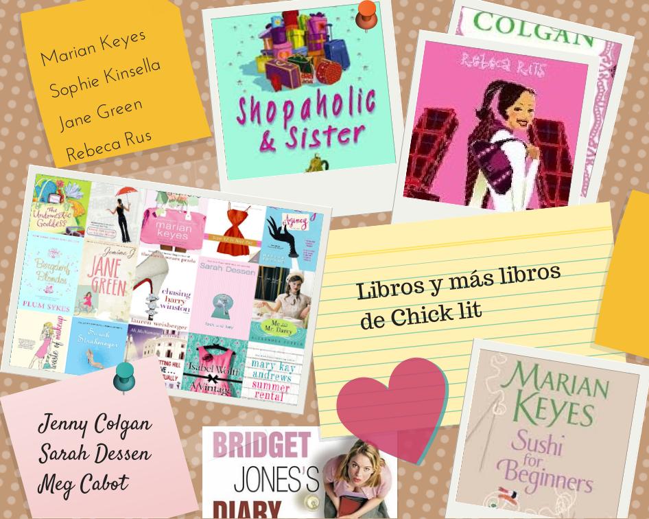 Literatura de chicas, chick lit - lectura fácil y entretenida (Marian Keyes, Bridget Jones, Sophie Kinsella, Rebeca Rus...)