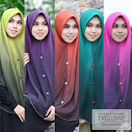 HIJAB BUTTON OMBRE