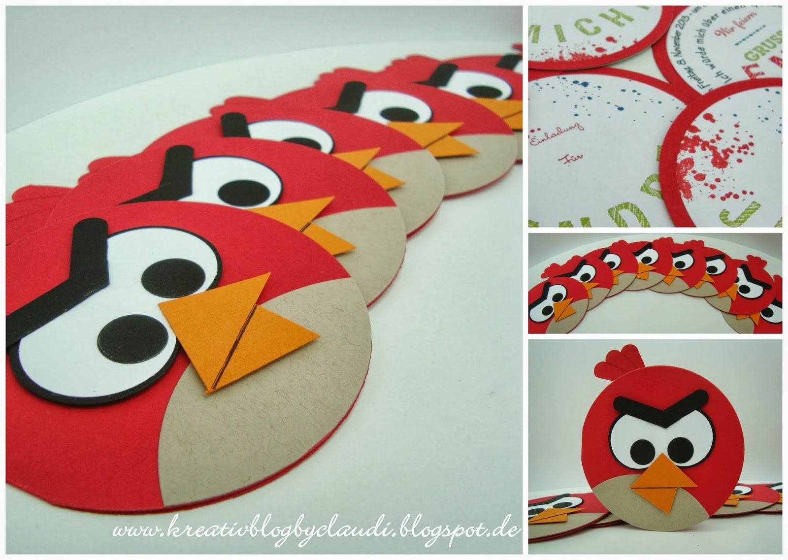 Angry Birds Einladungskarten Selber Machen Animefc Info