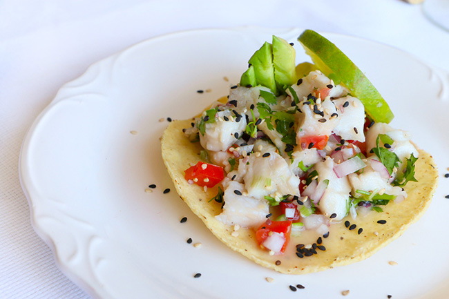 ... Cooking Recipes by Vanessa Hernández: Róbalo Ceviche Tostadas