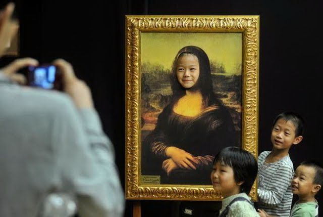 Right Now - I Am The Real Mona Lisa