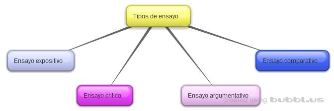 ensayo lengua y literatura: