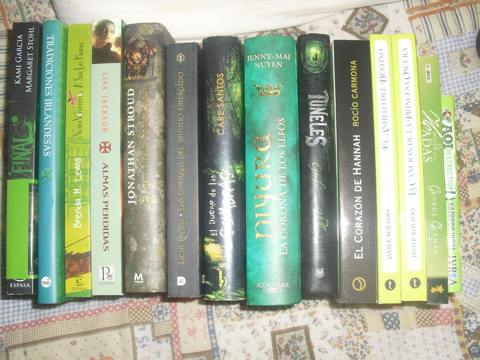 Destripando la Imaginación: Libros de colores #1: ¡Juntos por el verde!