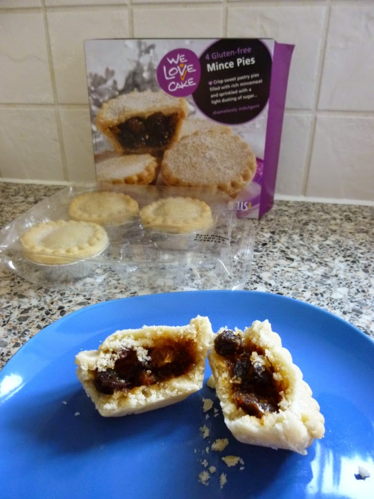 We Love Cake Gluten-free Mince Pies by Bells of Lazenby