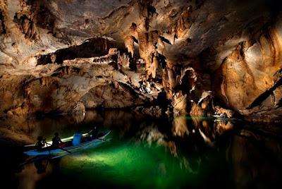 Underground river in puerto princesa palawan philippines
