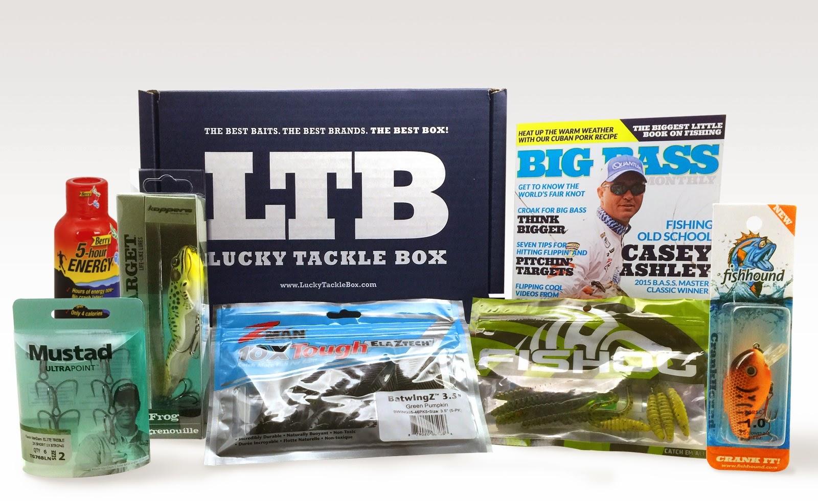 May 2015 lucky tackle box bass fishing lucky tackle box for Bass fishing tackle box