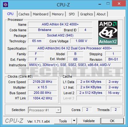 تعرف على جميع مواصفات جهازك بكل دقة، نوع كارت الشاشة، نسخة البيوس ... - التقنية نت - technt.net