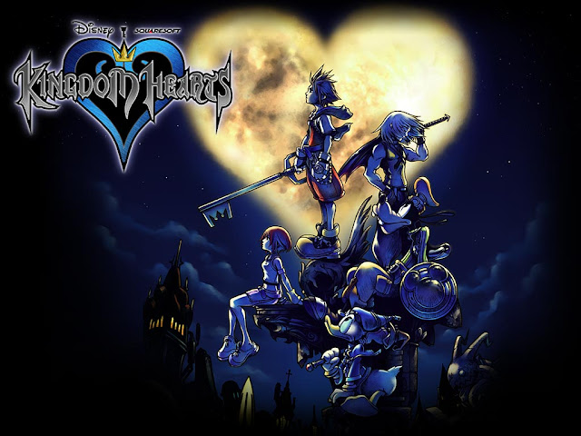 kingdom hearts square enix action jrpg rpg japanese role playing game