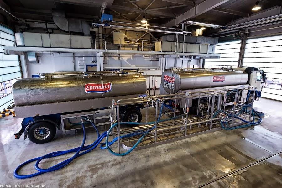 Организация центровывоза молока с ферм и комплексов