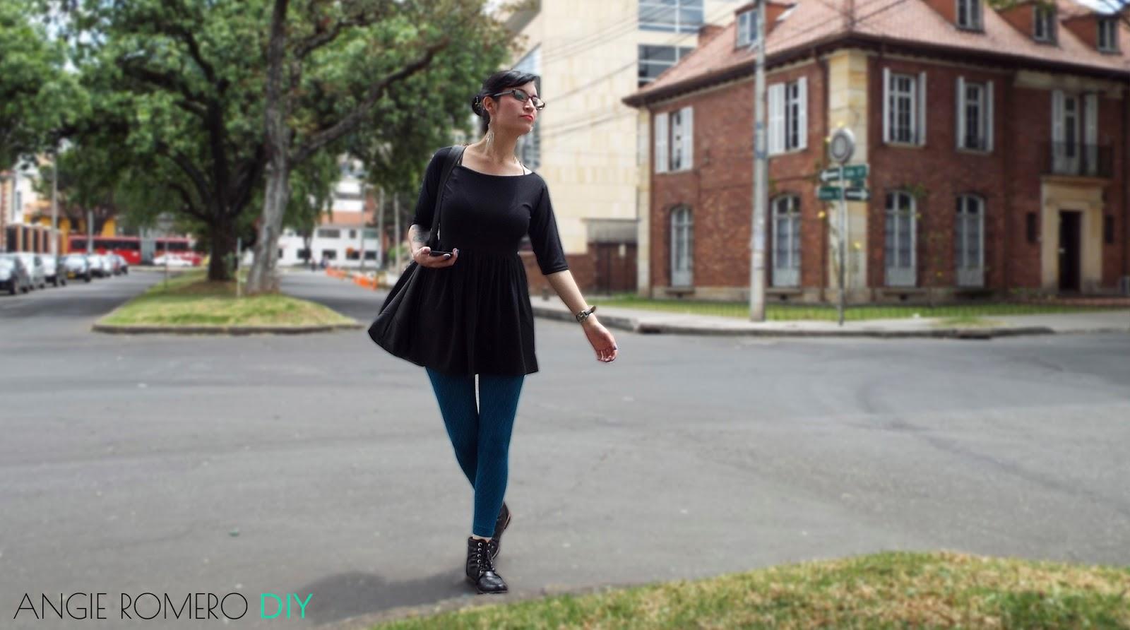 como hacer vestido rapido sin patrones