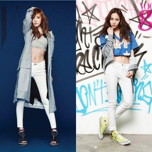 Girls' Generation Jessica-f(x) Krystal
