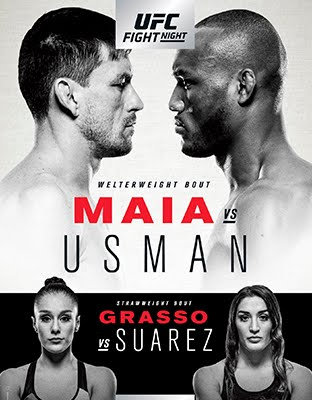 Ver UFC Fight Night Chile: Maia vs Usman