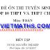 Bộ đề ôn thi tuyển sinh vào lớp 10 THPT và THPT chuyên môn Toán