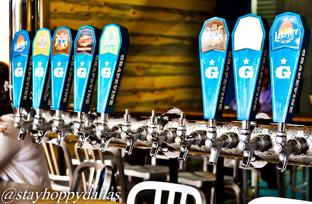 Grapevine Craft Brewery Tap Wall