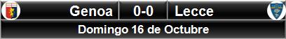 Genoa 0-0 Lecce