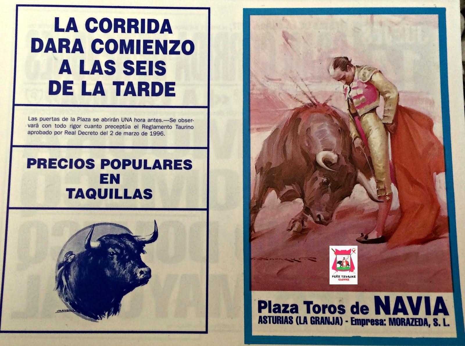 navia(asturias) toros