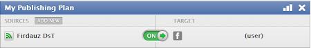 Posting Artikel Otomatis Ke Facebook