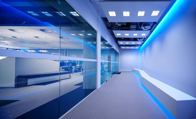 Feel what light can do for office life lighting
