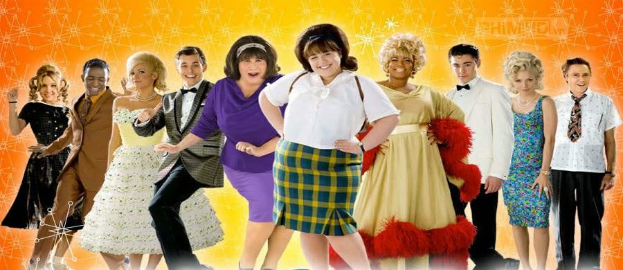 Phim Cuộc Thi Hoa Hậu Tóc VietSub HD | Hairspray 2007