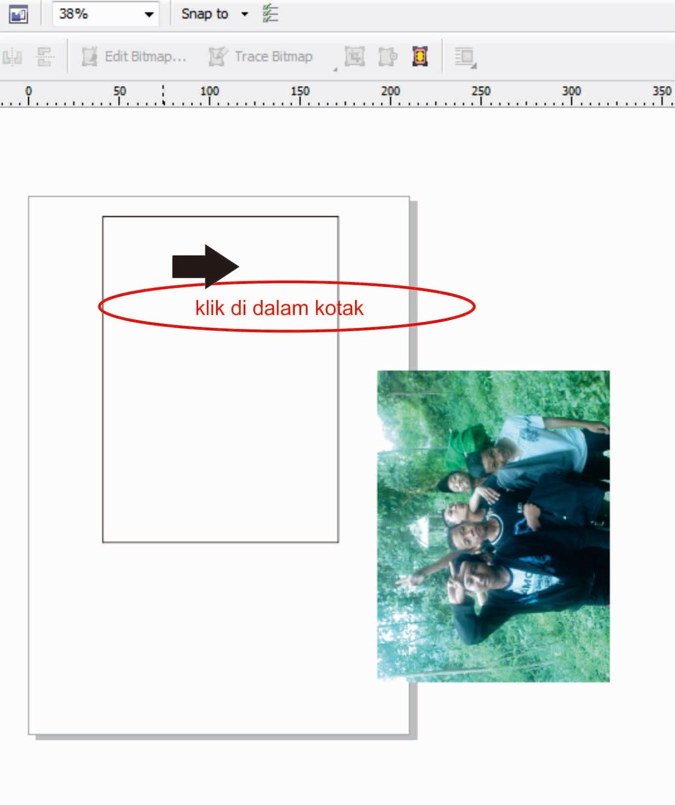 Cara Cetak Foto dengan CorelDraw X5