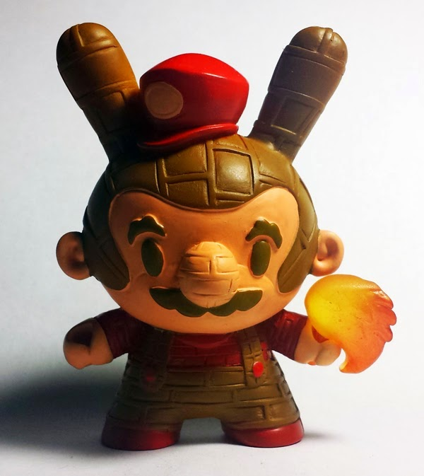 New York Comic Con 2014 Exclusive Brick Basher Custom Dunny Resin Figure by Erick Scarecrow