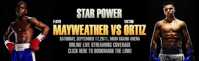 Mayweather vs Ortiz Online Live Streaming, News and Updates, Mayweather Ortiz 24/7