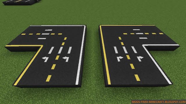 Con el Mod Road para Minecraft 1.8 puedes crear una ciudad!.