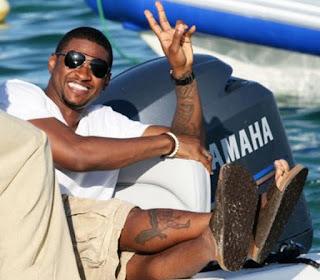 Usher - Pés Masculinos - Male Feet