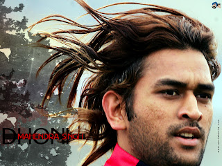 Mahendra Singh Dhoni with Long Hairstyle - Celebrity Men Hairstyle Ideas