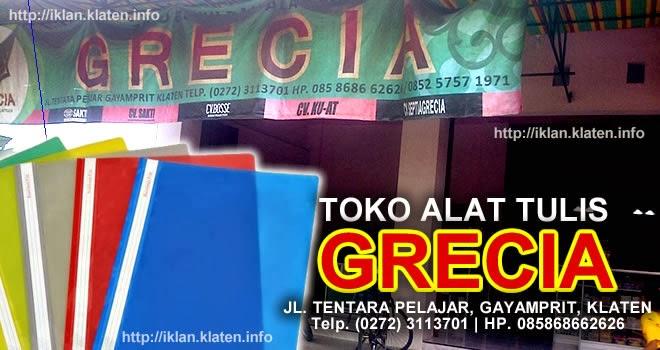 toko ATK di Klaten - Grecia