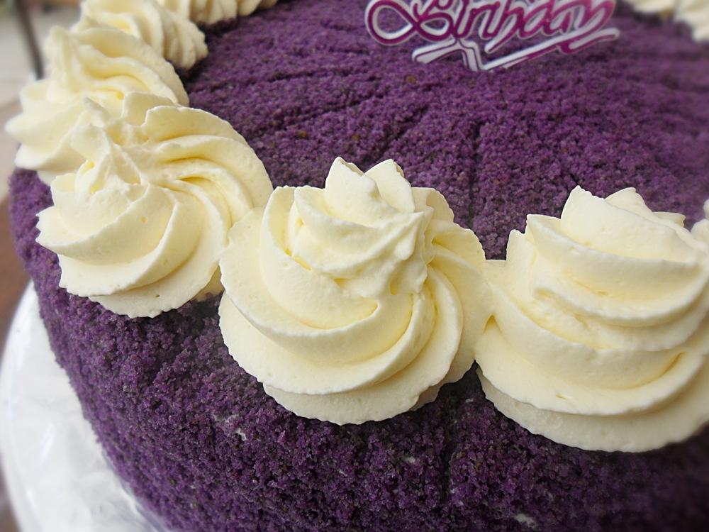 Ingredients To Making Ube Cake